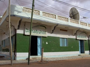 A Dahabshiil franchise outlet in Puntland (Somalia) Warsame90, courtesy of Wikipedia, http://en.wikipedia.org/wiki/File:Dahabpun.jpg