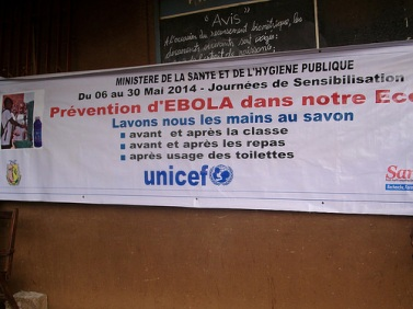 UNICEF and partners conduct Ebola education sessions at schools throughout the capital, Conakry https://www.flickr.com/photos/unicefguinea/14385150428/sizes/m/